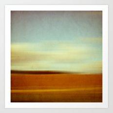 landscape abstract Art Print