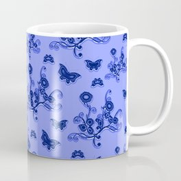 Flowers & butterflies revisited IV Coffee Mug