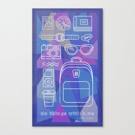 Things to love Canvas Print