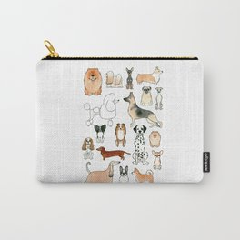 Dogs Carry-All Pouch