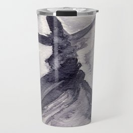 whirling dervish - sufi meditation - ink wash Travel Mug