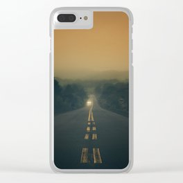 Cool Morning Clear iPhone Case