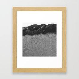 Braided Mane Framed Art Print