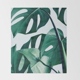 Monstera #society6 #artprints #buyart Throw Blanket