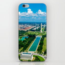 DC from Above iPhone Skin