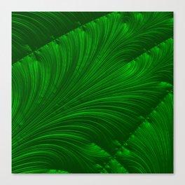 Renaissance Green Canvas Print