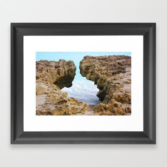Blowing Rock II Framed Art Print