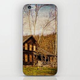John Burroughs Woodchuck Lodge iPhone Skin