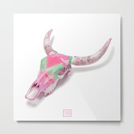 Animal skull Metal Print