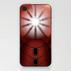 iron man v.2 iPhone & iPod Skin