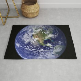 Planet Earth - The Blue Marble From Space Rug