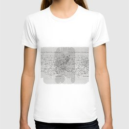 The National System of Interstate and Defense Highways Inset Version T-shirt