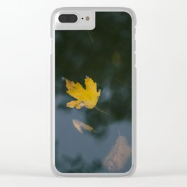 an autumn dream Clear iPhone Case
