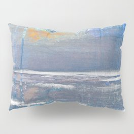 Blue Color Patches Pillow Sham