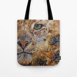 Leopard Dynasty Tote Bag
