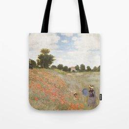 Poppies, Claude Monet, 1873 Tote Bag