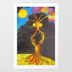 Missis Tree Art Print