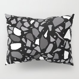 Terrazzo Spot Black 2 Pillow Sham