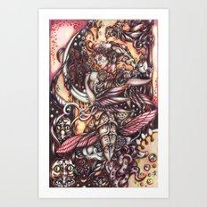 Linda Art Print