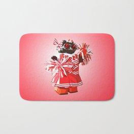 Cheerbot Red Bath Mat