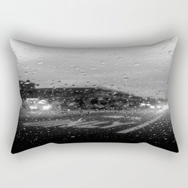 Rain in Ridgewood Rectangular Pillow