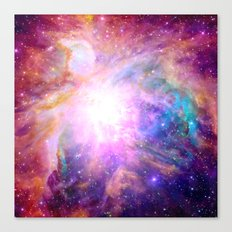 Galaxy Nebula Canvas Print