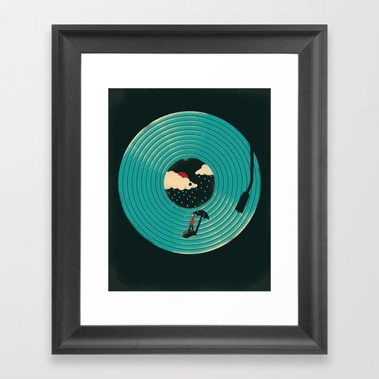 Songs for a Rainy Day Framed Art Print
