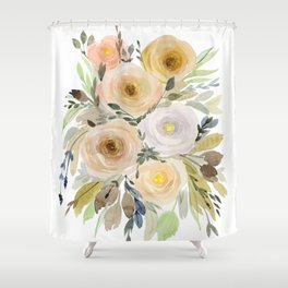 Floral 8 Shower Curtain