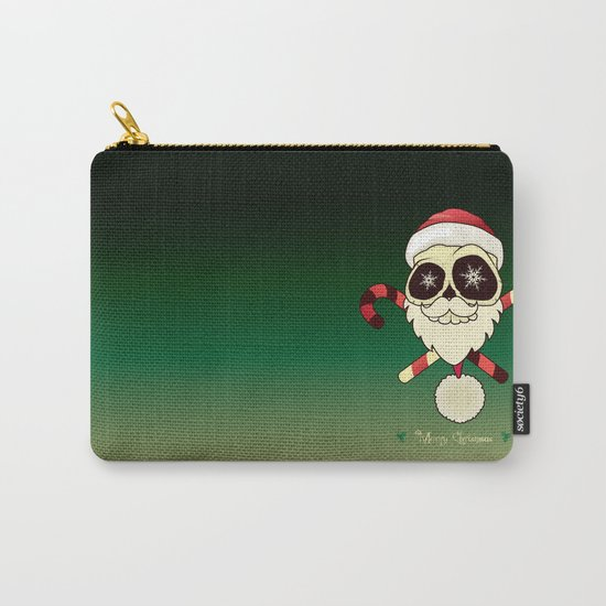 Santa skull Carry-All Pouch