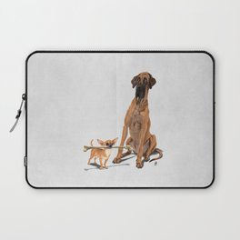 The Long and the Short and the Tall (Wordless) Laptop Sleeve