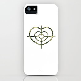 Heartscope Camo iPhone Case