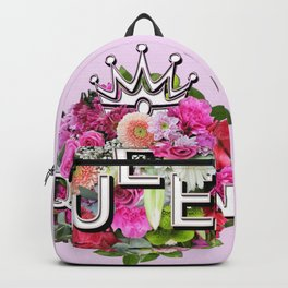 Queen Floral Bouquet Backpack