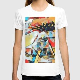 Daisy One Abstract T-shirt