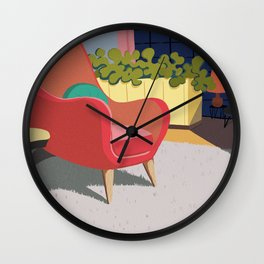 Come In And Sit Down Wall Clock