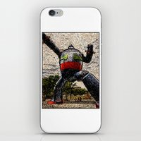 kobe iPhone & iPod Skins featuring Guardian of Kobe By Eku Zhong by SLUniverse