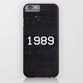 1989 iPhone Case