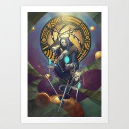 The Dreamteller of Dejavu Art Print
