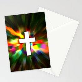 Cross in Color - Bible Lock Screens Stationery Cards
