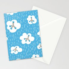 Methane Molecules And The Greenhouse Effect Stationery Cards