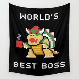 WORLD BEST BOSS Wall Tapestry