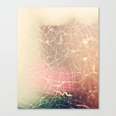 The Tangled Web Canvas Print