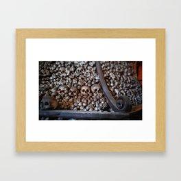 Pile of Remains Framed Art Print
