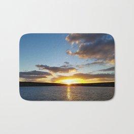 Sunset - Inis Mor, Aran Islands,Ireland Bath Mat