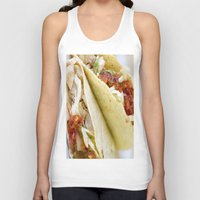 taco Tank Tops featuring Taco  by Spotted Heart
