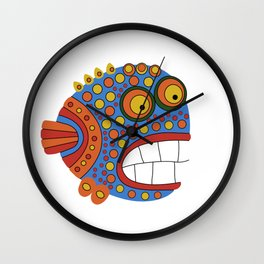 Fish art 21.3 Wall Clock