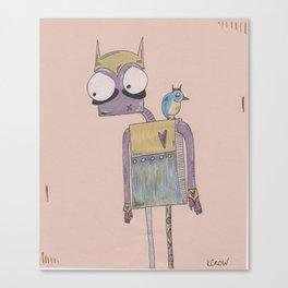 birdie & me. Canvas Print