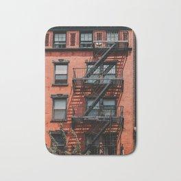 NY City Building | Fine Art Travel Photography Bath Mat
