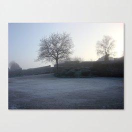 Bécherel Fog Canvas Print