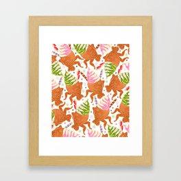 Taiyaki Mermaids Framed Art Print