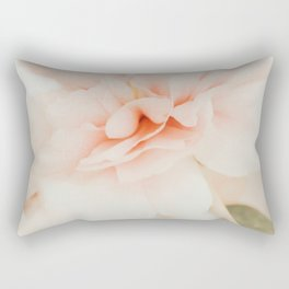 Burnt Orange Peony Rectangular Pillow
